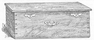 Bradwell Church Chest 1893
